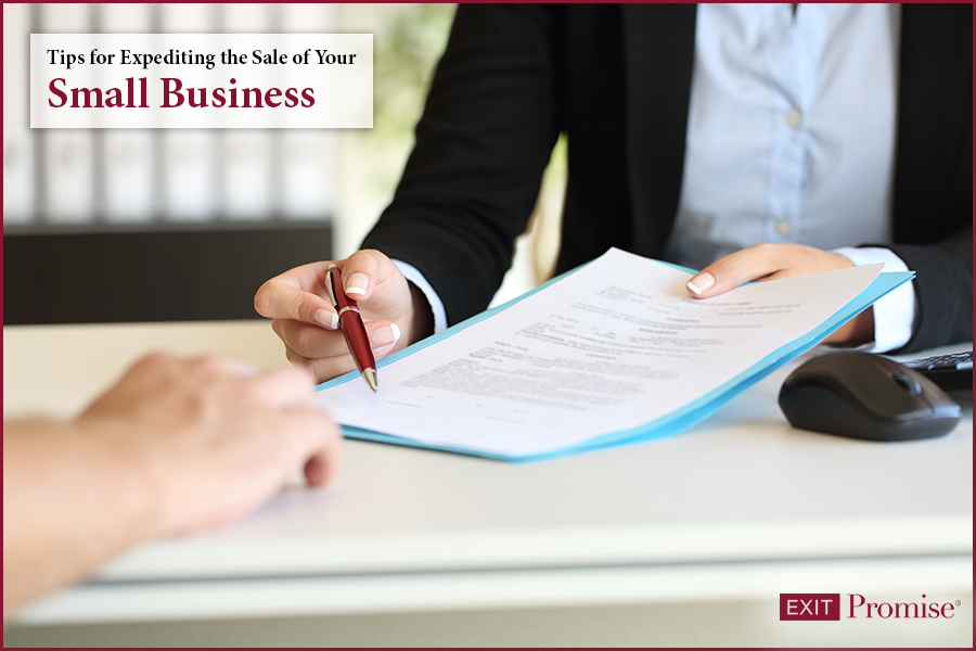 Expedite the sale of your business