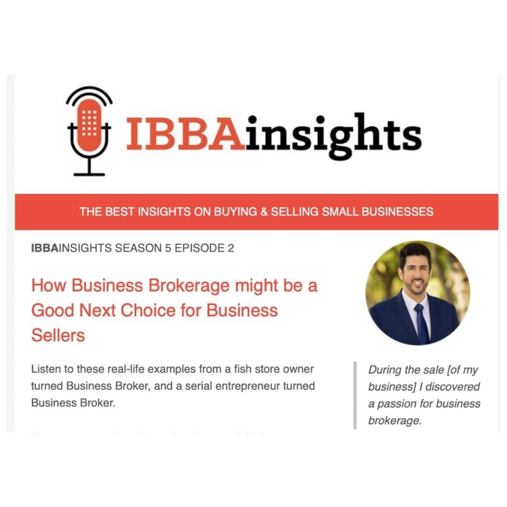 Neal Interviewed by IBBA